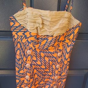 Anthropologie Dresses - Tracy Reese Plenty   patterned silk button dress